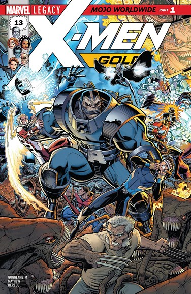 X-Men Gold Cover - 12/1/2017