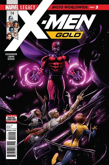 X-Men Gold Cover - 12/15/2017