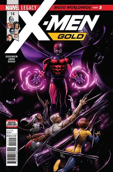 X-Men Gold Cover - 12/15/2017