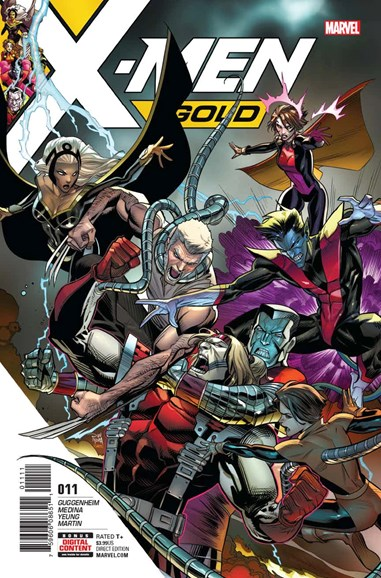 X-Men Gold Cover - 11/1/2017