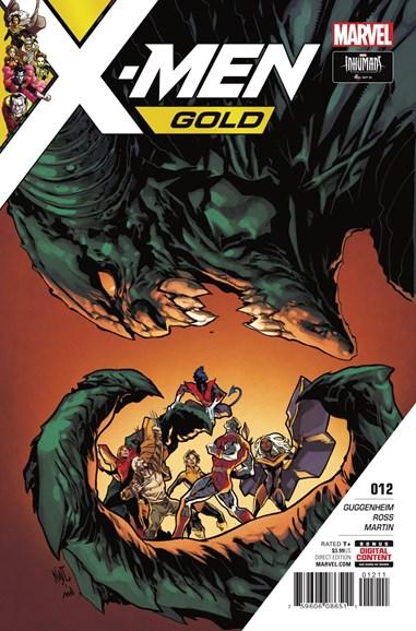 X-Men Gold Cover - 11/15/2017