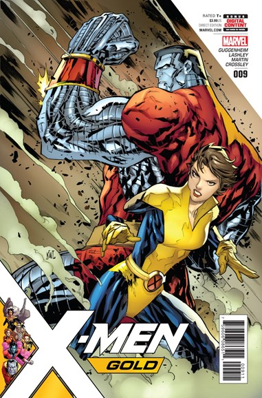 X-Men Gold Cover - 10/1/2017