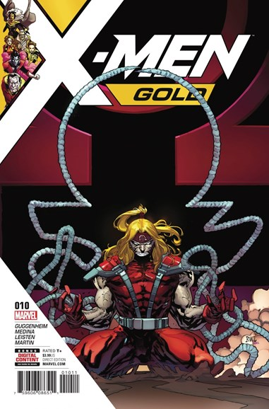 X-Men Gold Cover - 10/15/2017