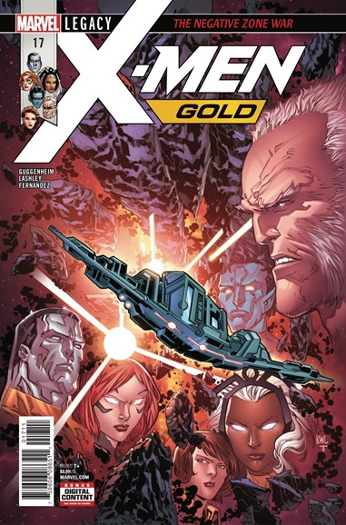 X-Men Gold Cover - 2/1/2018