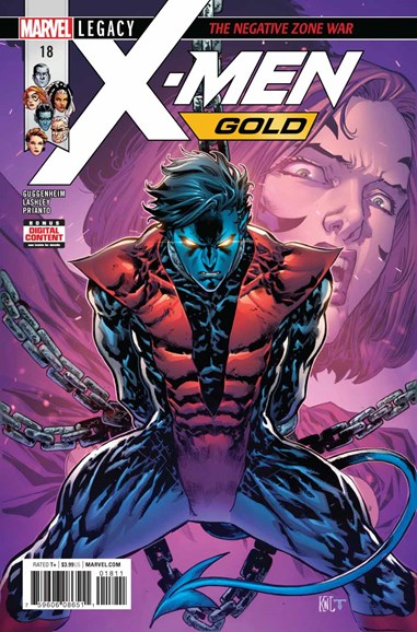 X-Men Gold Cover - 2/15/2018