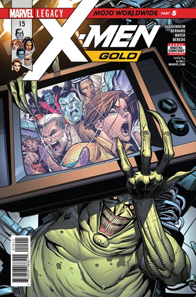 X-Men Gold Cover - 1/1/2018