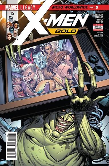 X-Men Gold Cover - 1/1/2018