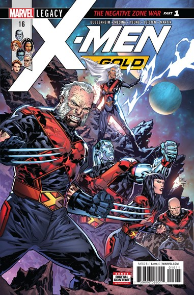 X-Men Gold Cover - 1/15/2018