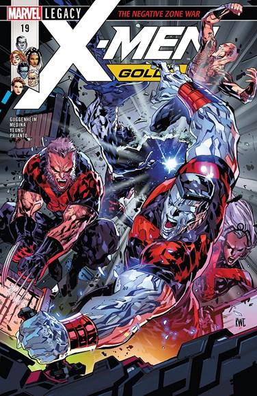 X-Men Gold Cover - 3/1/2018