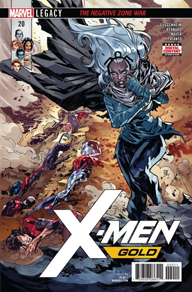 X-Men Gold Cover - 3/15/2018