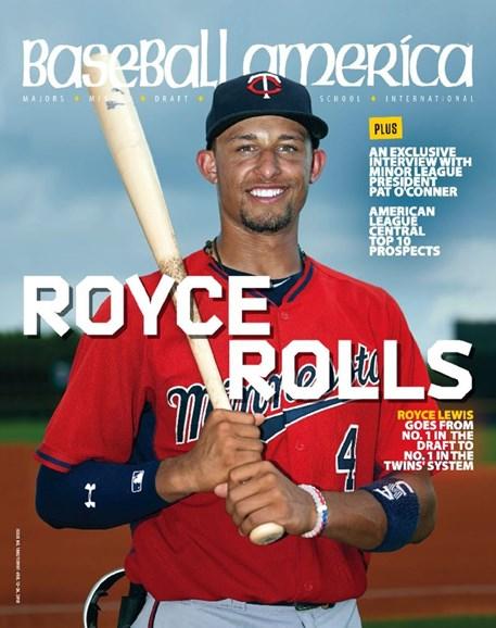 Baseball America Cover - 1/12/2018
