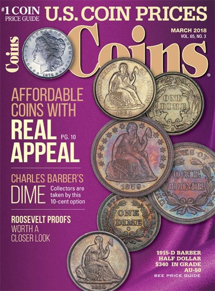 Coins Cover - 3/1/2018