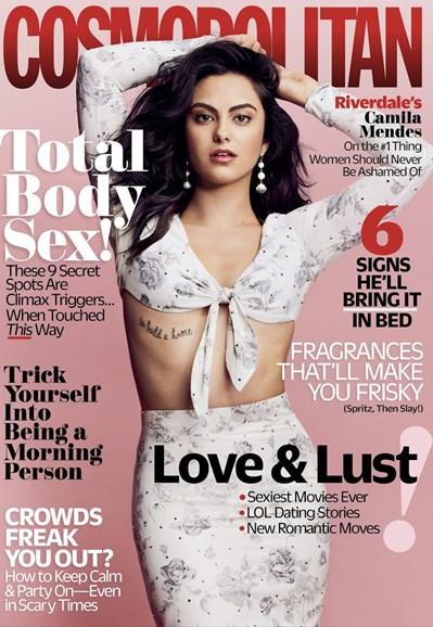 Cosmopolitan Cover - 2/1/2018
