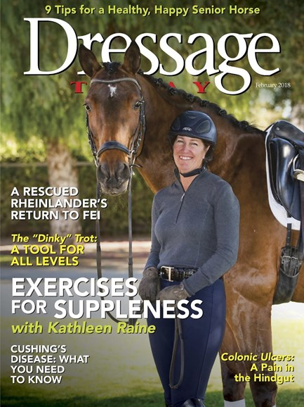Dressage Today Cover - 2/1/2018