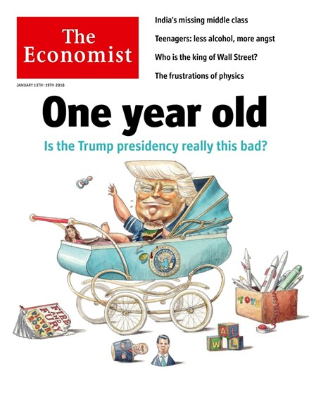 The Economist Cover - 1/13/2018