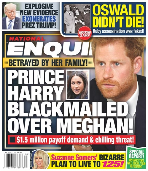 National Enquirer Cover - 1/22/2018