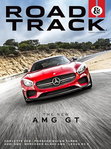 Road & Track Cover - 2/1/2015