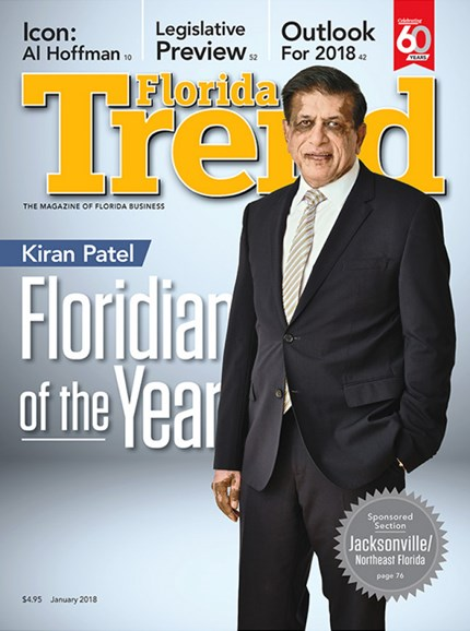 Florida Trend Cover - 1/1/2018
