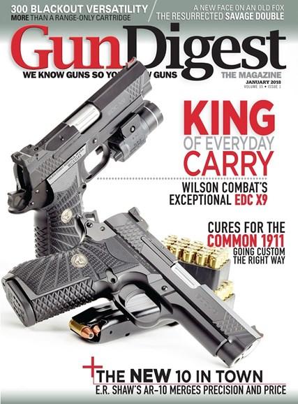 Gun Digest Cover - 1/1/2018