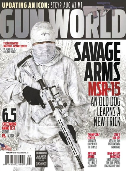 Gun World Cover - 2/1/2018