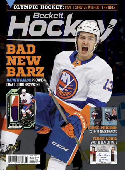Beckett Hockey Cover - 2/1/2018