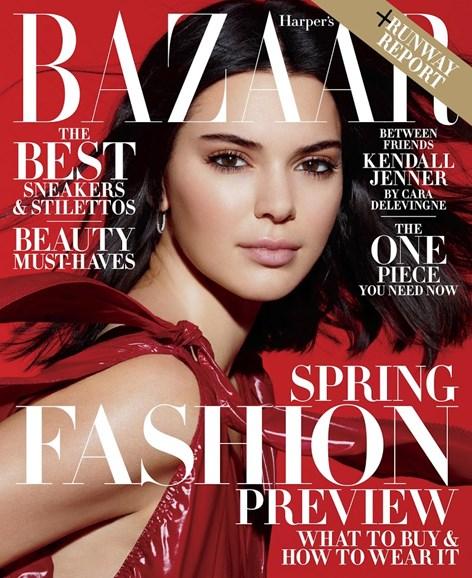 Harper's Bazaar Cover - 2/1/2018