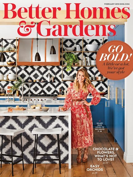 Better Homes & Gardens Cover - 2/1/2018