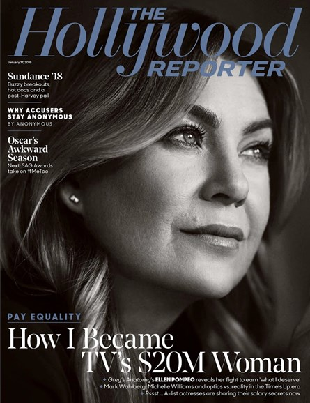 The Hollywood Reporter Cover - 1/17/2018