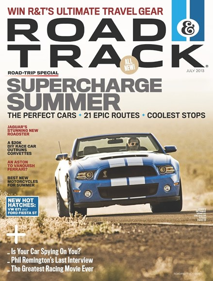 Road & Track Cover - 7/1/2013