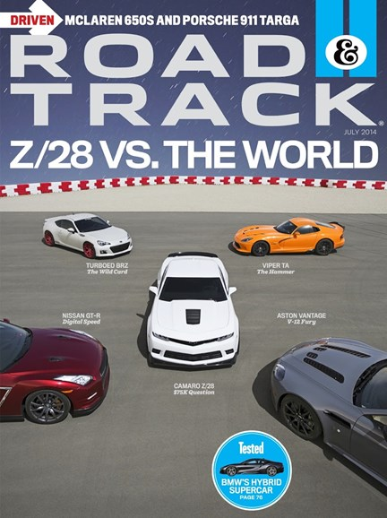 Road & Track Cover - 7/1/2014