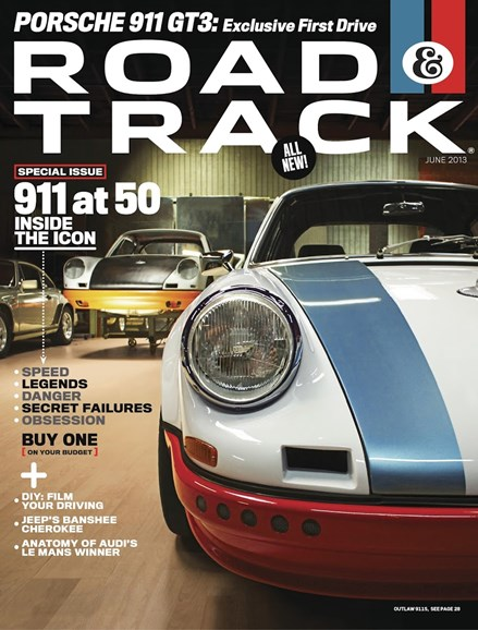 Road & Track Cover - 6/1/2013