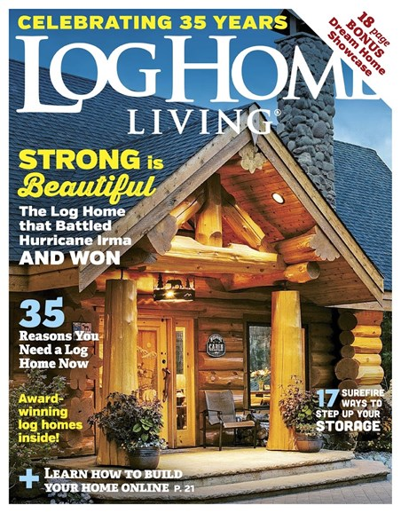 Log Home Living Cover - 1/1/2018