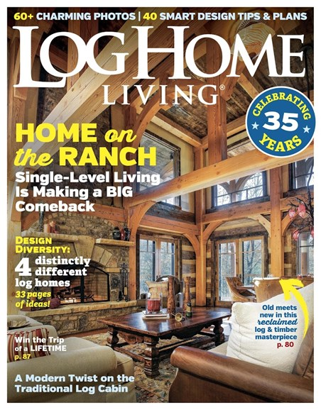 Log and Timber Home Living Cover - 3/1/2018