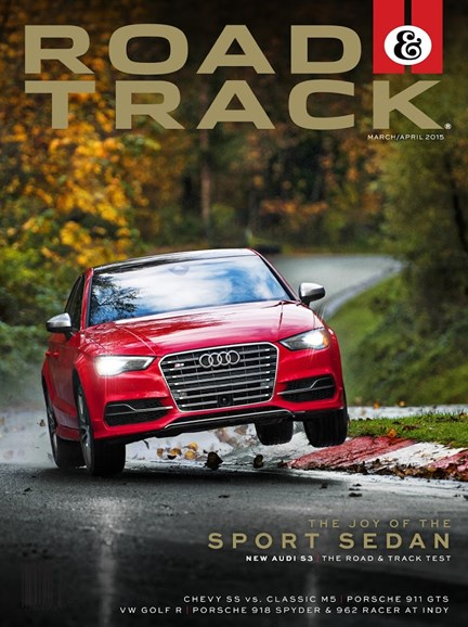 Road & Track Cover - 3/1/2015