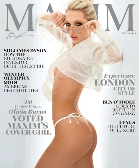 Maxim Cover - 1/1/2018