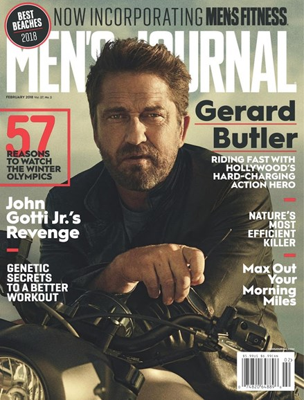 Men's Journal Cover - 2/1/2018