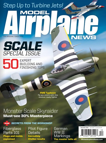 Model Airplane News Cover - 12/1/2016