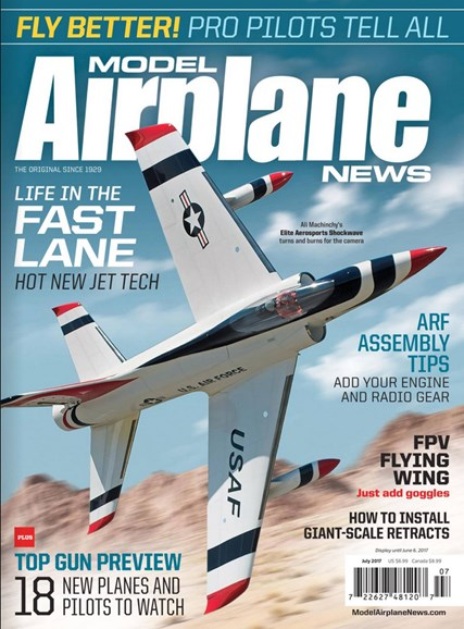 Model Airplane News Cover - 7/1/2017