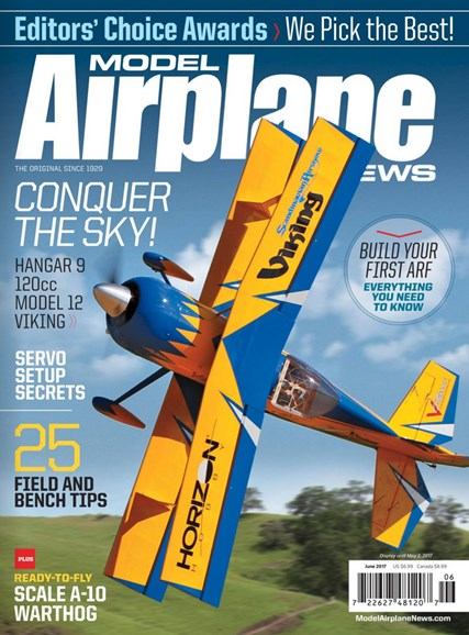 Model Airplane News Cover - 6/1/2017