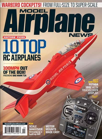 Model Airplane News Cover - 3/1/2018