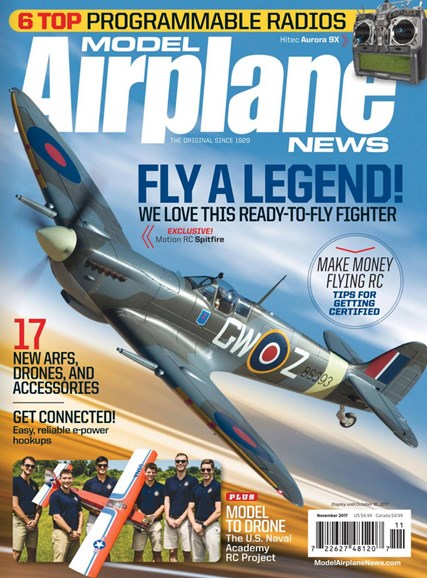 Model Airplane News Cover - 11/1/2017