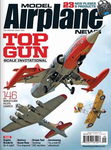 Model Airplane News Cover - 9/1/2017