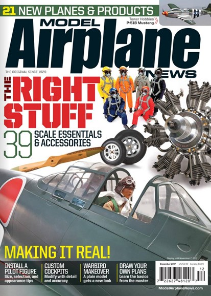 Model Airplane News Cover - 12/1/2017