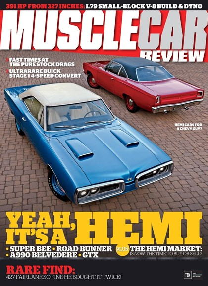 Muscle Car Review Cover - 2/1/2018