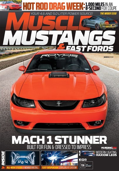 Muscle Mustangs & Fast Fords Cover - 3/1/2018