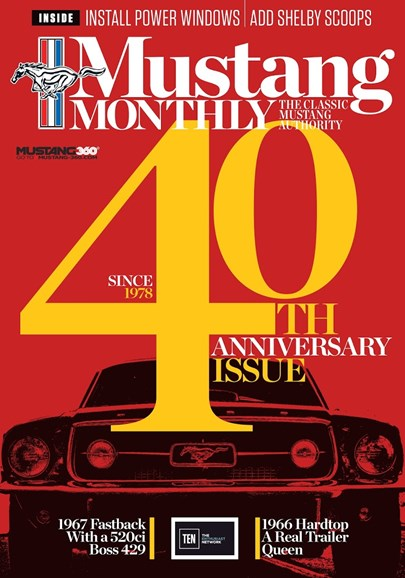 Mustang Monthly Cover - 2/1/2018