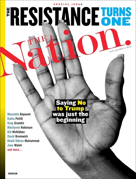 The Nation Cover - 1/29/2018