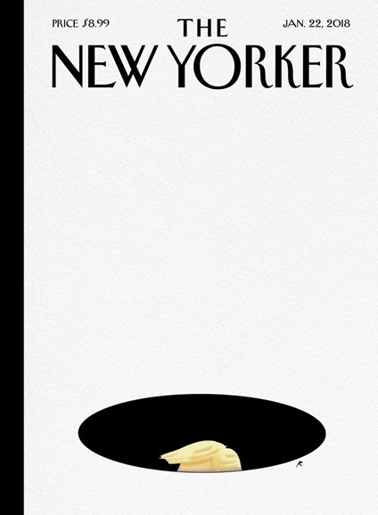 The New Yorker Cover - 1/22/2018