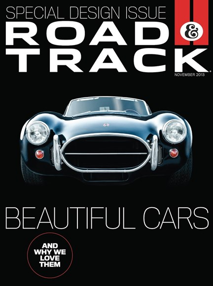 Road & Track Cover - 11/1/2013