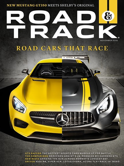 Road & Track Cover - 11/1/2015